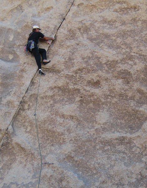 Rock Climbing Photo: Dave Mayville leading Boulderado.