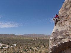Rock Climbing Photo: @ Joshua Tree