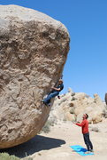 Rock Climbing Photo: This is definitely height dependent and is more li...