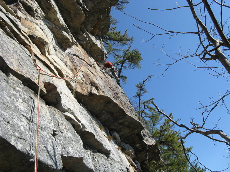 Rock Climbing Photo: Bloody Bush Pitch 2
