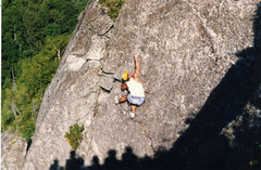 Rock Climbing Photo: You may have an audience, don't blow it at the top...