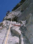 Rock Climbing Photo: Crux Pitch, Guides Wall