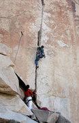 Rock Climbing Photo: Wangerbanger. Photo by Blitzo.