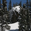 Another one of my biggest airs, Red Mountain Pass, April 07