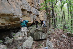 Rock Climbing Photo: Mr. Liles himself.