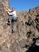 Rock Climbing Photo: Greg is having second thoughts about this whole ro...