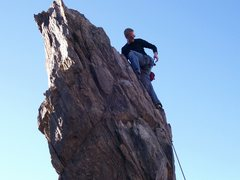 Rock Climbing Photo: This route on the Pinnacle at New Jack City sheds ...