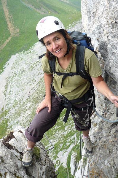 Rock Climbing Photo: Above Leysin