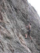 Rock Climbing Photo: Too, Little Eiger, Clear Creek Canyon
