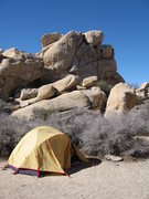 Rock Climbing Photo: Hidden Valley Campground.  Homey, right?
