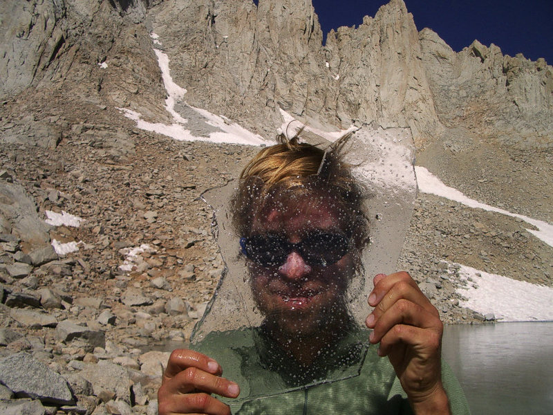 Rock Climbing Photo: himself
