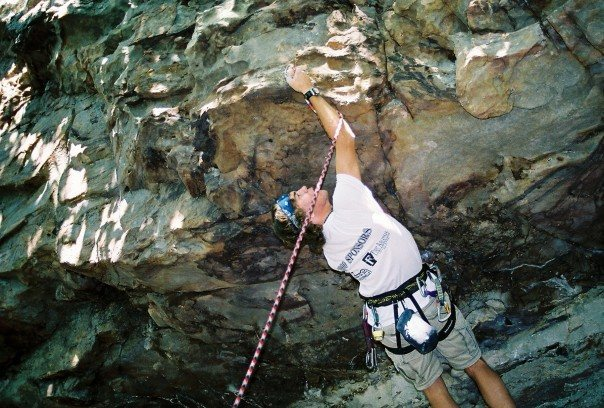 Rock Climbing Photo: First clip of Checkmate