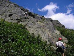 Rock Climbing Photo: The beginning of Henderson Ridge