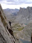 Rock Climbing Photo: Wolf's Head Skywalk
