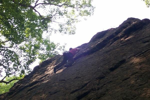 Rock Climbing Photo: Joey on 'A Year in the Life' 5.10a