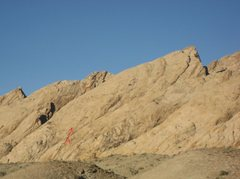 Rock Climbing Photo: View of the Reefer Madness formation from the pull...