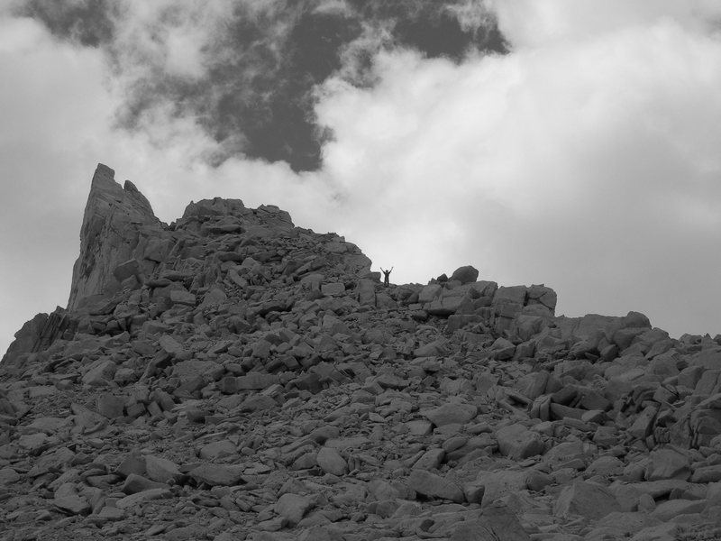 Rock Climbing Photo: Jedi on Russel