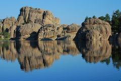 Rock Climbing Photo: Sylvan Lake
