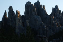 Rock Climbing Photo: Cathedral Spires