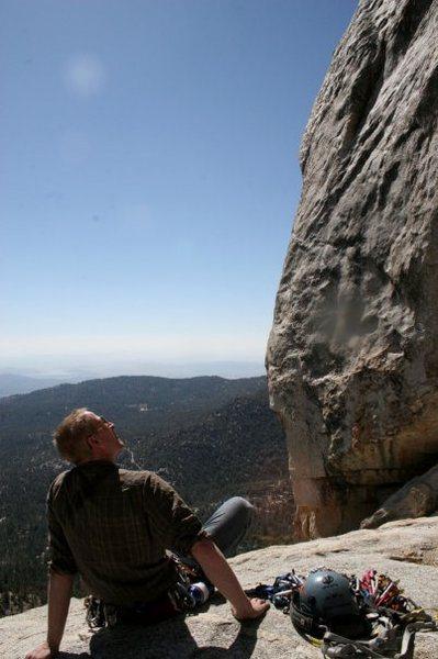 Tahquitz is a big rock.