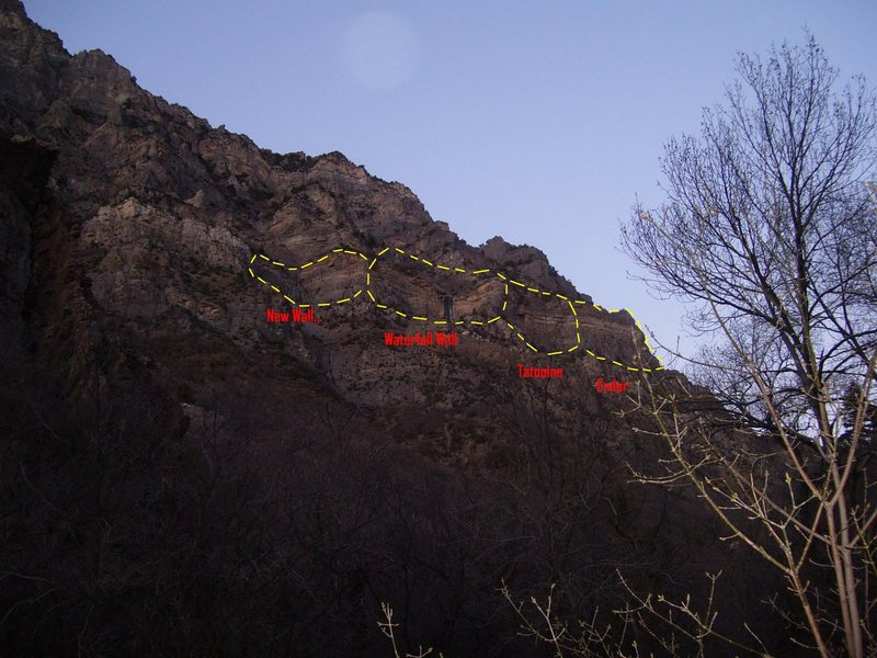 Rock Climbing Photo: The pic is a bit dark but this is the view of the ...