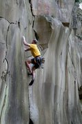 Rock Climbing Photo: Basalt at its best