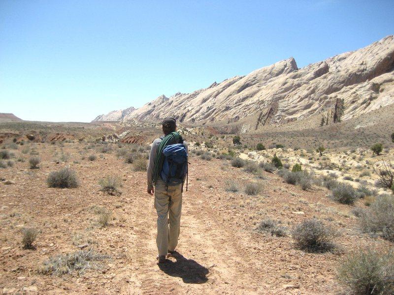 Rock Climbing Photo: Heading Home.