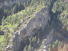 Rock Climbing Photo: Ah, The Projects. Home to some of Rock Canyon's st...