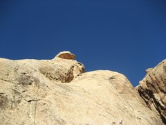 Rock Climbing Photo: Steve Rydalch on first pitch.