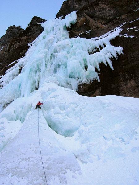 Rock Climbing Photo: Bridalveil, 1st Pitch.