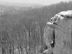 Rock Climbing Photo: Photo features the spectacular 2nd pitch of Fancy ...