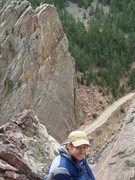 Rock Climbing Photo: Sick view from the top. Photo by Bill Rusk.