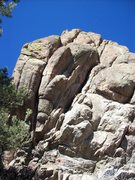 Rock Climbing Photo: #3. OSS 5.8+. #4 MI5 5.9+, mixed.