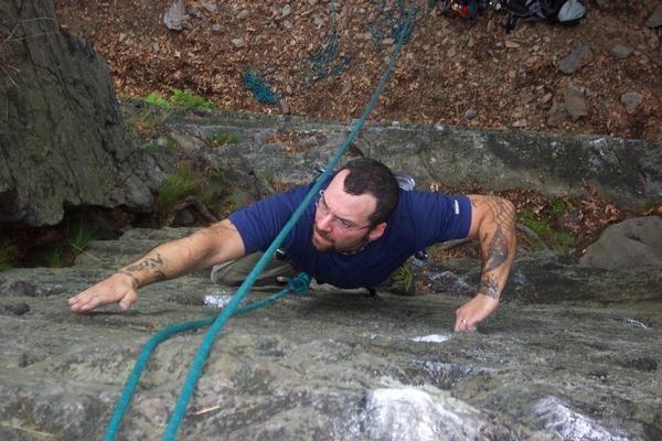 Rock Climbing Photo: Joey on 'Espresso'