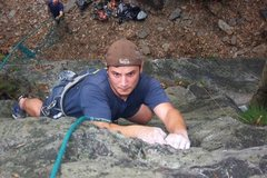Rock Climbing Photo: Gonzo on 'Espresso'