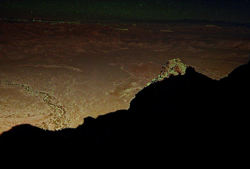 Rock Climbing Photo: Whiskey Peak as seen from Black Velvet Peak