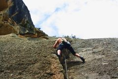 Rock Climbing Photo: I ended up encountering a bat another time while c...