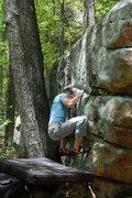 Rock Climbing Photo: Bradley doing Yella Fever.