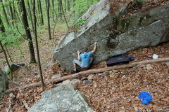Rock Climbing Photo: Really nice warm up for your core strength.