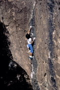 Rock Climbing Photo: BH highballing on FA of Distorted History V5 @ Hue...