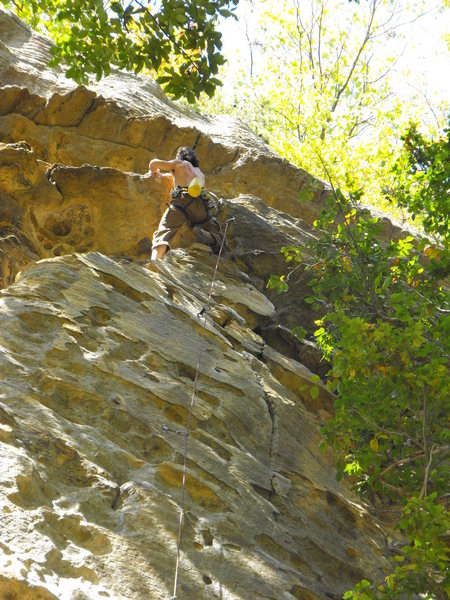 Rock Climbing Photo: Fun cruise on Whip-Stocking