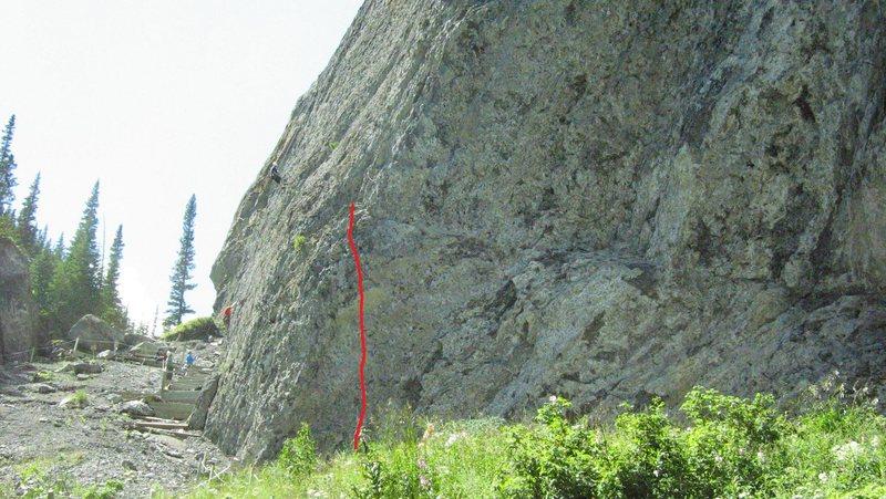 Rock Climbing Photo: This is Meathooks.