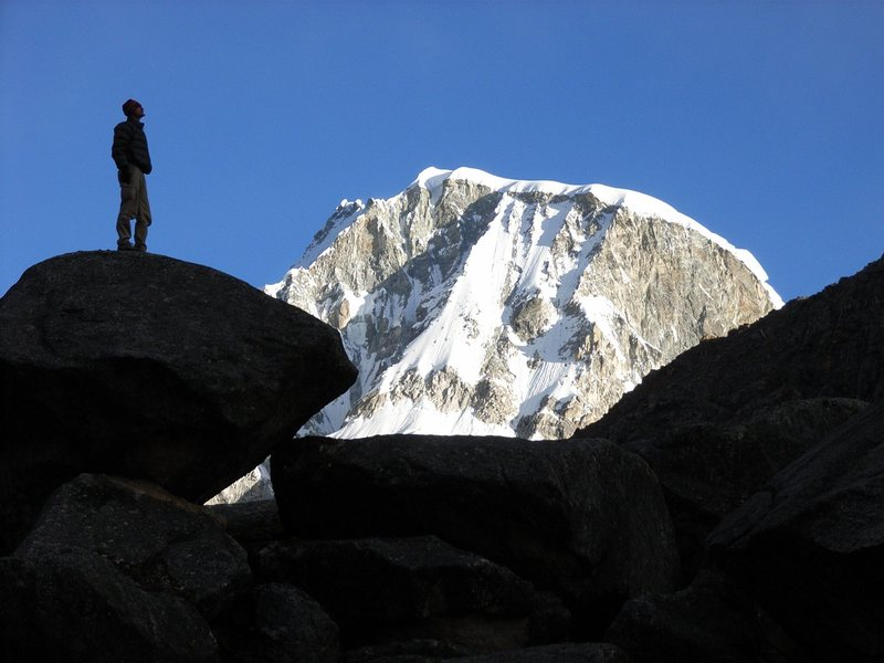 Marveling the N-Face of Ranrapalca/Cordillera Blanca