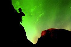 Rock Climbing Photo: photoshopped