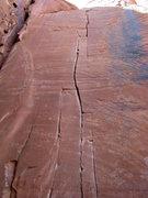 Rock Climbing Photo: Nice crack.