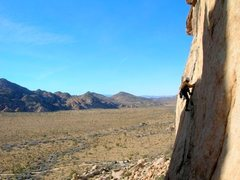 Rock Climbing Photo: Very nice climbing on cakewalk.