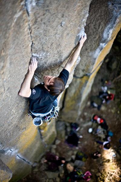 Rock Climbing Photo: hard