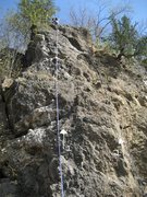 Rock Climbing Photo: 1 - Kippered Devi 5.7 with 2 permanent top rope an...