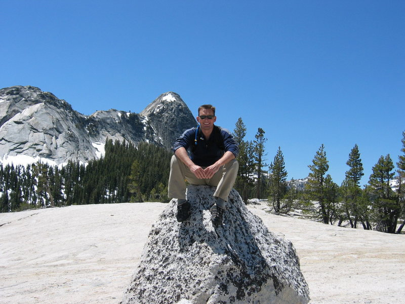 Rock Climbing Photo: Happy to be in Toulumne Meadows,CA