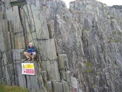 Rock Climbing Photo: Lamberis slate,Wales,UK